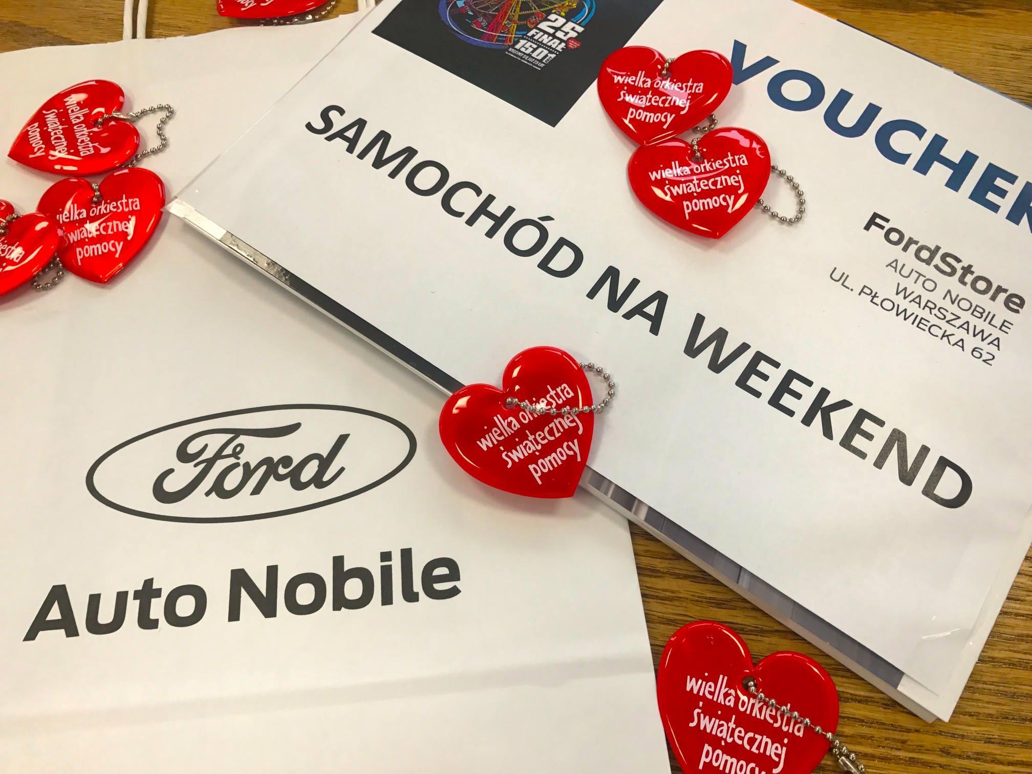 Samochód na weekend od Auto Nobile FORD – LICYTUJCIE!