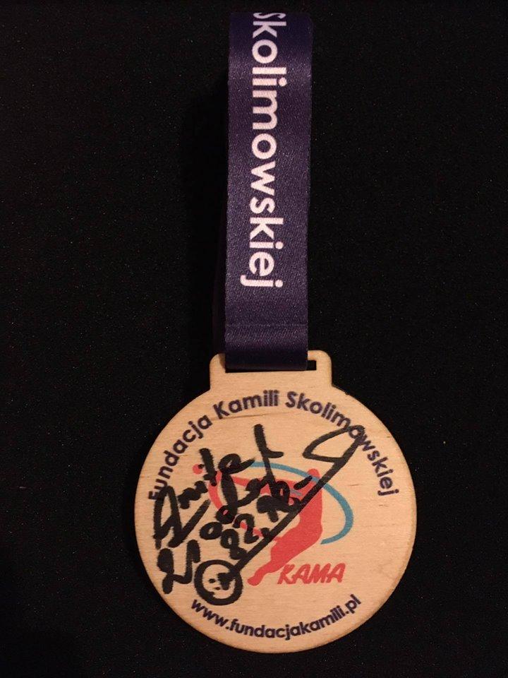 Medal Athletics Camp wraz z autografem Anity Włodarczyk