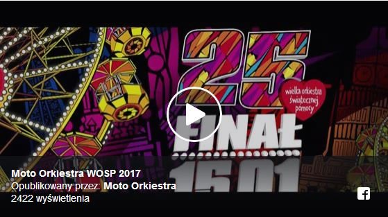 Moto Orkiestra WOŚP 2017